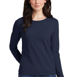 GILDAN G540L Women's 5.3 oz. Cotton Missy Fit Long-Sleeve